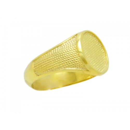 Δαχτυλίδι ανδρικό σεβαλιέ στρογγυλό